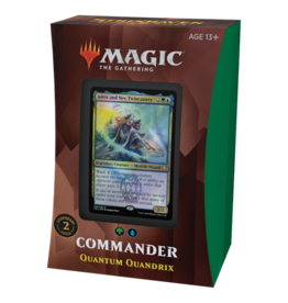 Magic Strixhaven Commander Deck Quantum Quandrix