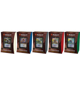 Magic Strixhaven Commander Deck Set (5)