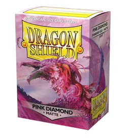 Dragon Shields Dragon Shield Matte 100 Pink Diamond