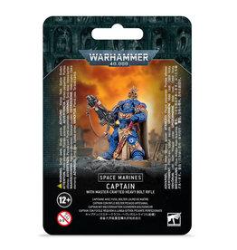 Warhammer 40k Space Marine Captain w/ Master-Crafted Bolt Rifle
