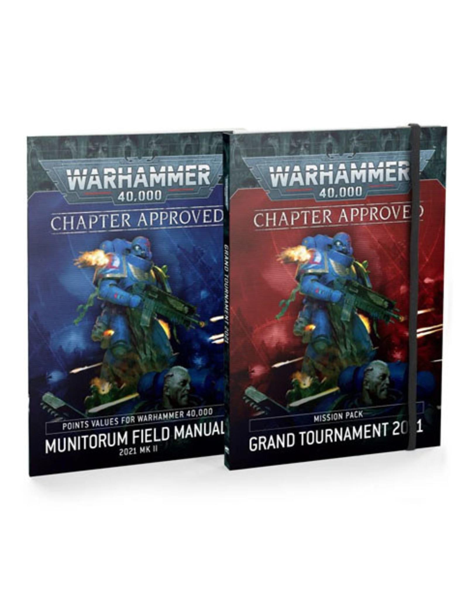 Warhammer 40k Grand Tournament Mission Pack Jun-21