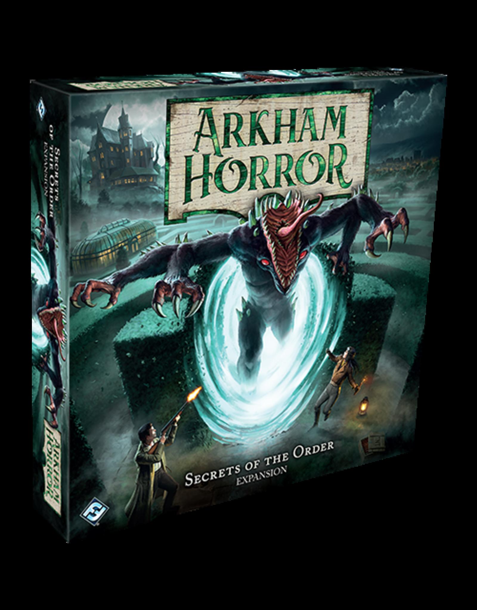 Arkham Horror Arkham Horror Board Game Secrets of the Order