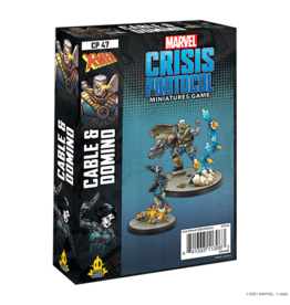 Marvel Crisis Protocol Marvel Crisis Protocol Domino Cable