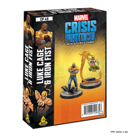 Marvel Crisis Protocol Marvel Crisis Protocol Luke Cage and Iron Fist