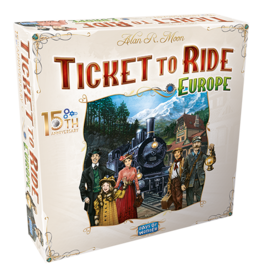T2R Ticket to Ride Europe 15th Anniversary Ed