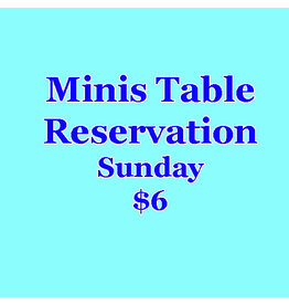 Minis Table Reservation Sunday