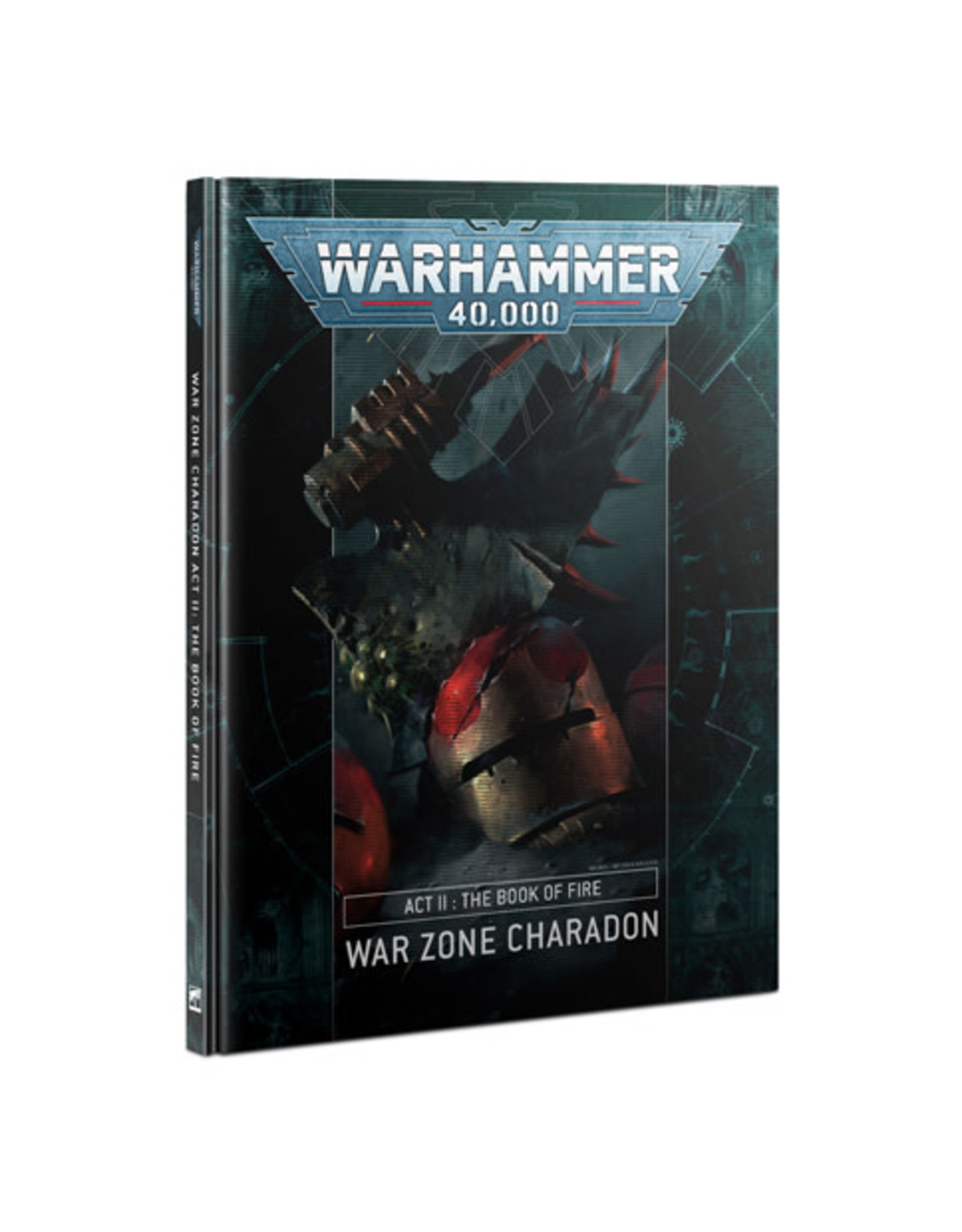 Warhammer 40k Charadon Act 2 Book Of Fire (HB)