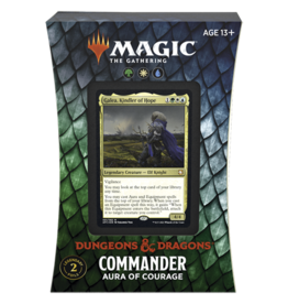 Magic AFR Commander Aura of Courage Adventures in the Forgotten Realms