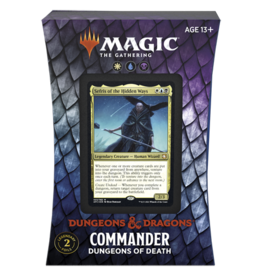 Magic AFR Commander Dungeons of Death Adventures in the Forgotten Realms