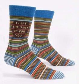 Blue Q Blue Q Men's Crew Socks