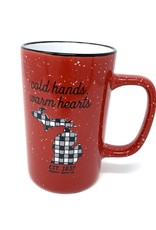 Midwest Supply Mug Cold Hands Buffalo Check