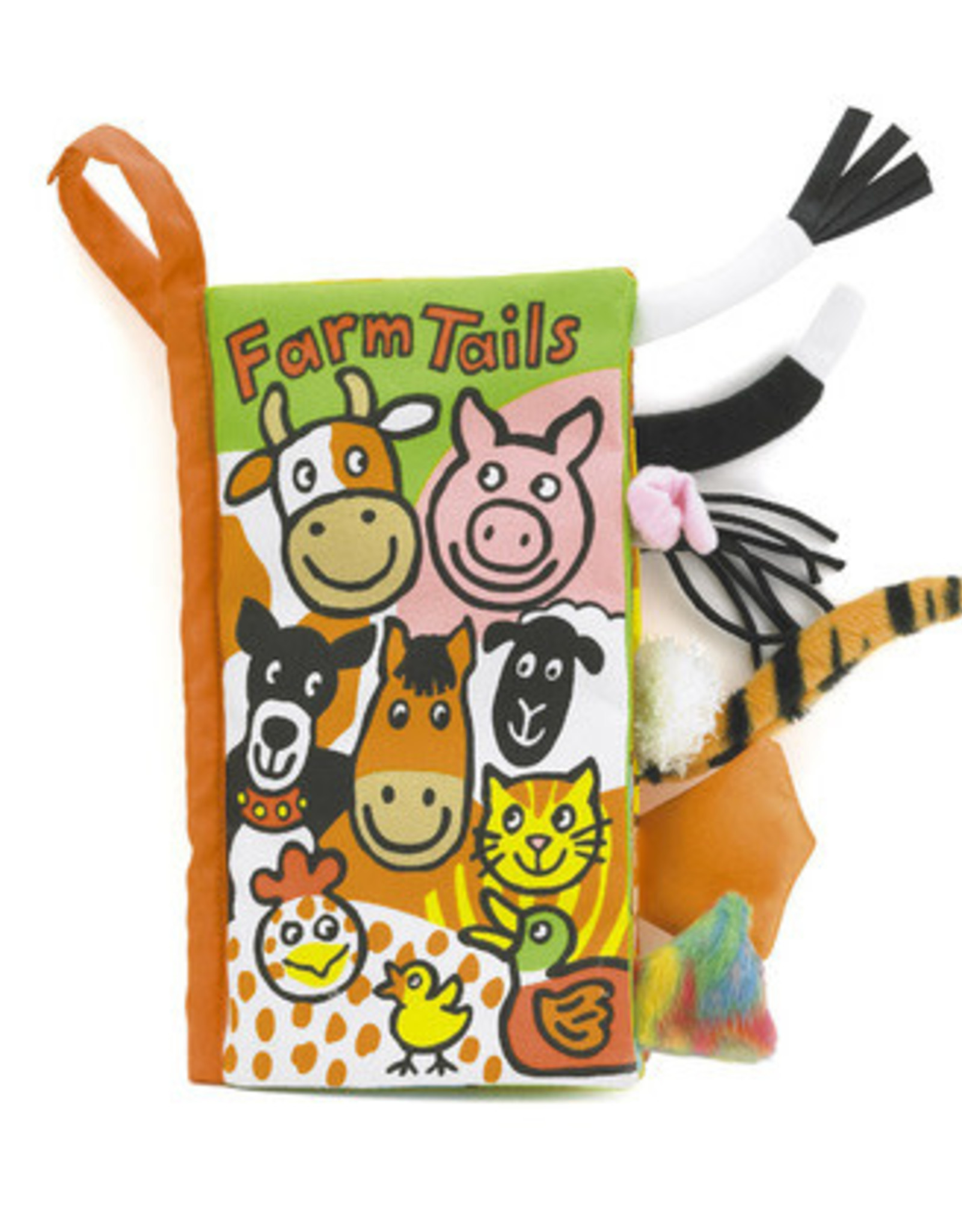 Jellycat Activity Book Farm Tails