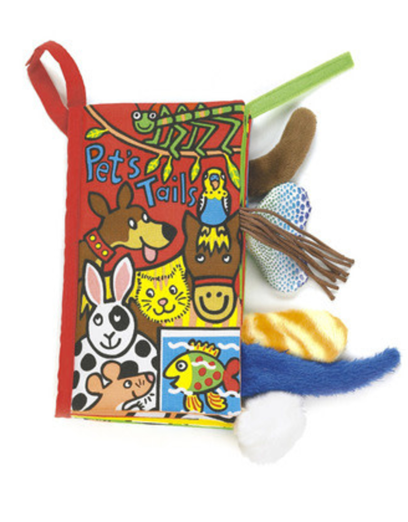 Jellycat Activity Book Pet Tails
