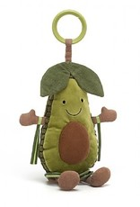Jellycat Amusable Avocado Activity Toy