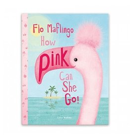 Jellycat Book- Flo Maflingo How Pink Can She Go