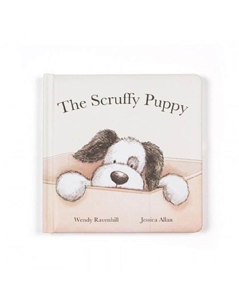 Jellycat Book- The Scruffy Puppy
