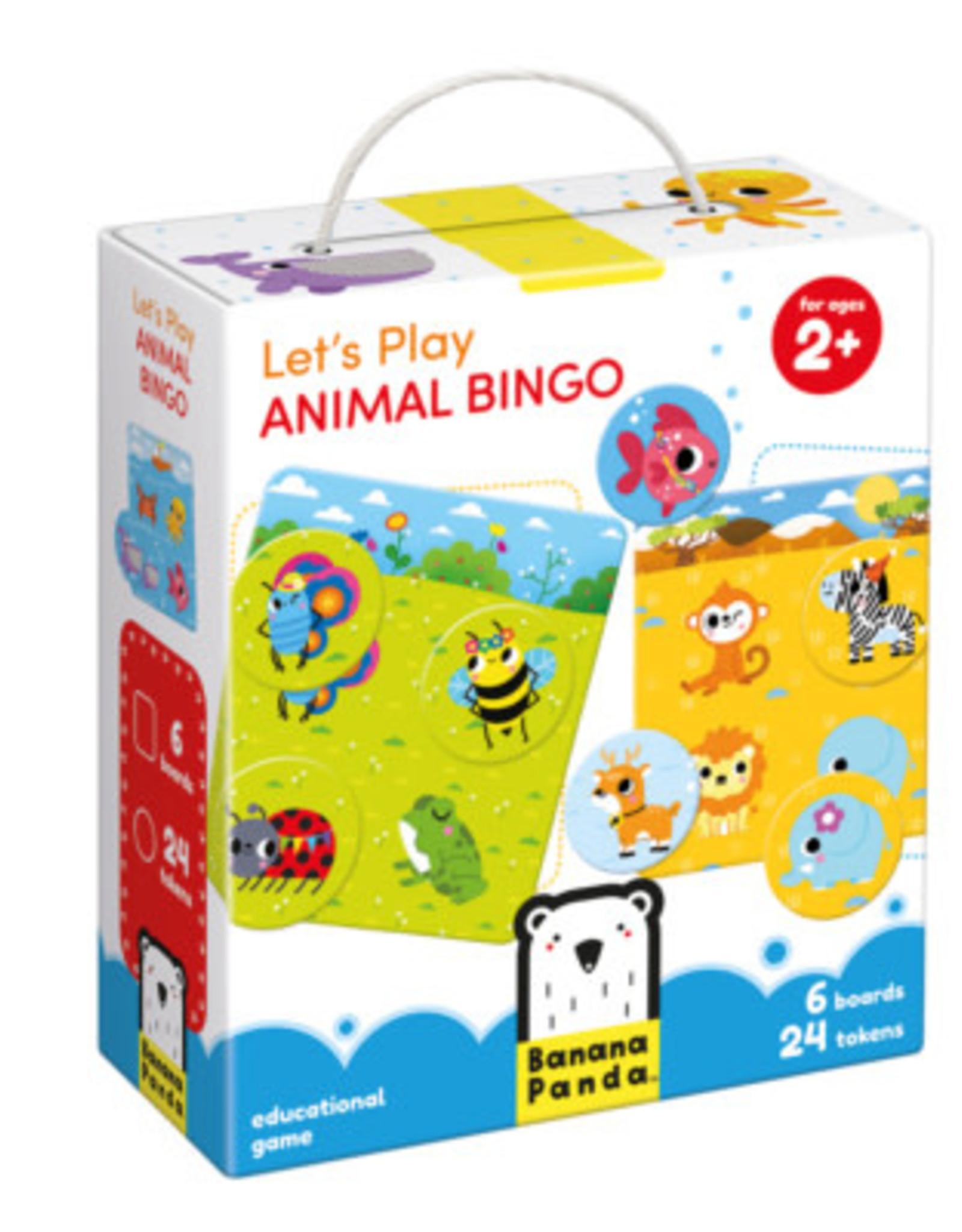 Banana Panda Let's Play Animal Bingo