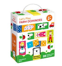 Banana Panda Let's Play Farm Dominoes