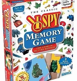 University Games I SPY Memory Game
