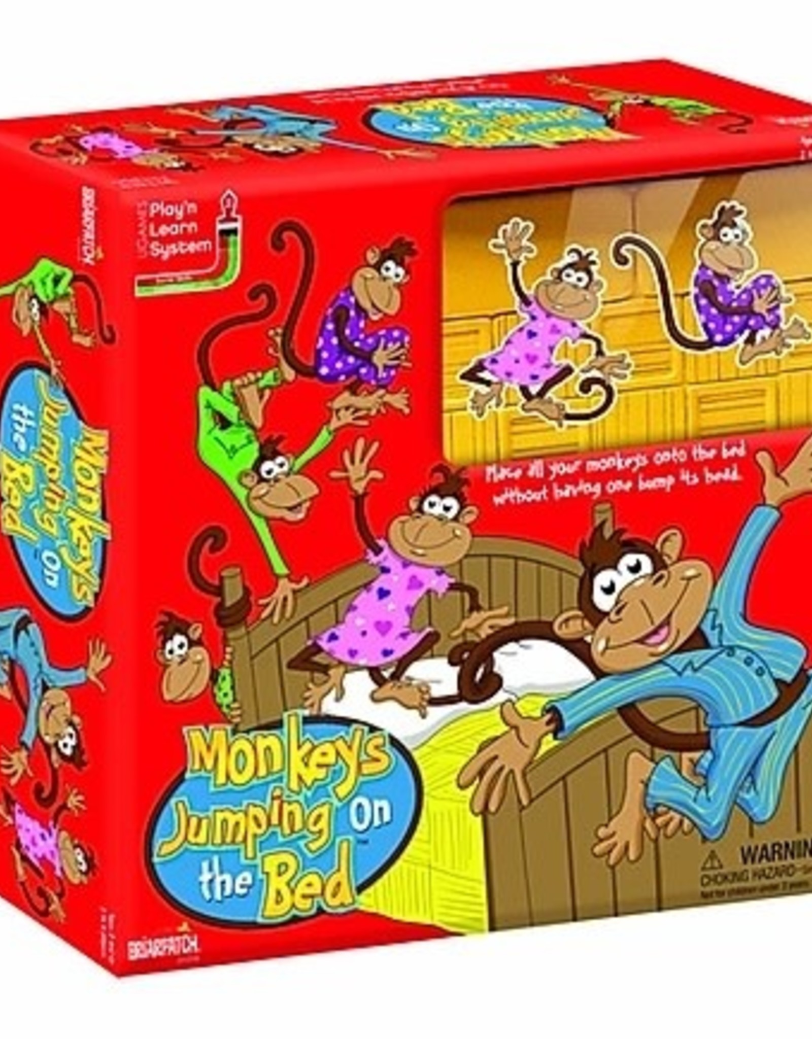 University Games Monkeys Jumping on the Bed Game