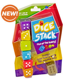Blue Orange Dice Stack Game