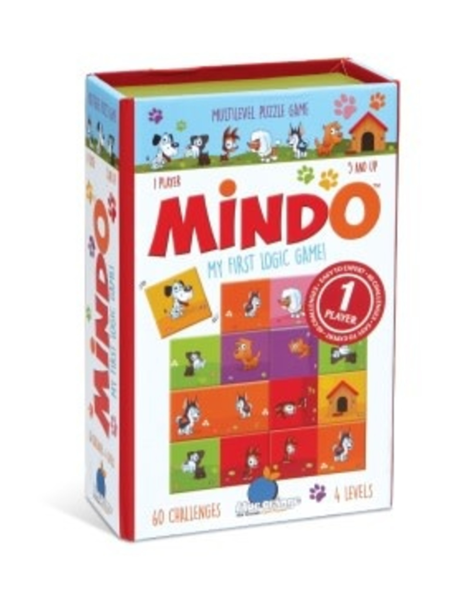 Blue Orange Mindo Puppy Edition