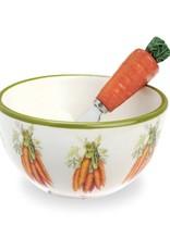 IHR Boston International Carrot Bowl and Spreader Set