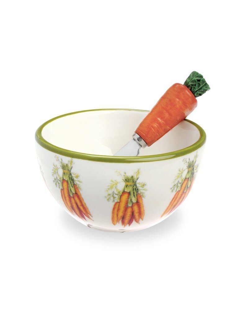 Carrot Bowl and Spreader Set