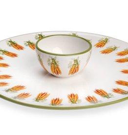 IHR Boston International Carrot Crudite Server Bowl