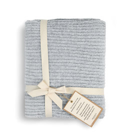 Chenille Throw - Gray