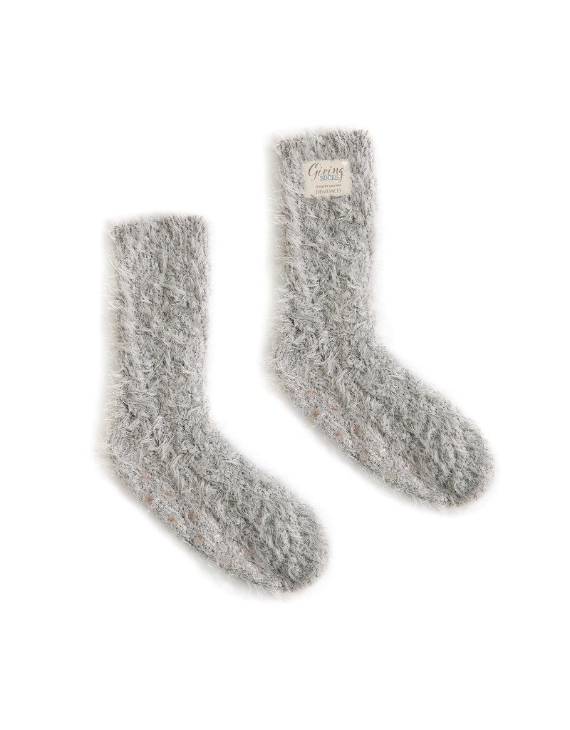 Giving Socks Taupe