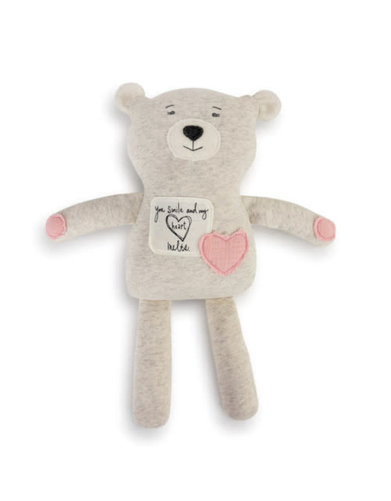 Demdaco Poetic Threads Bear- Girl