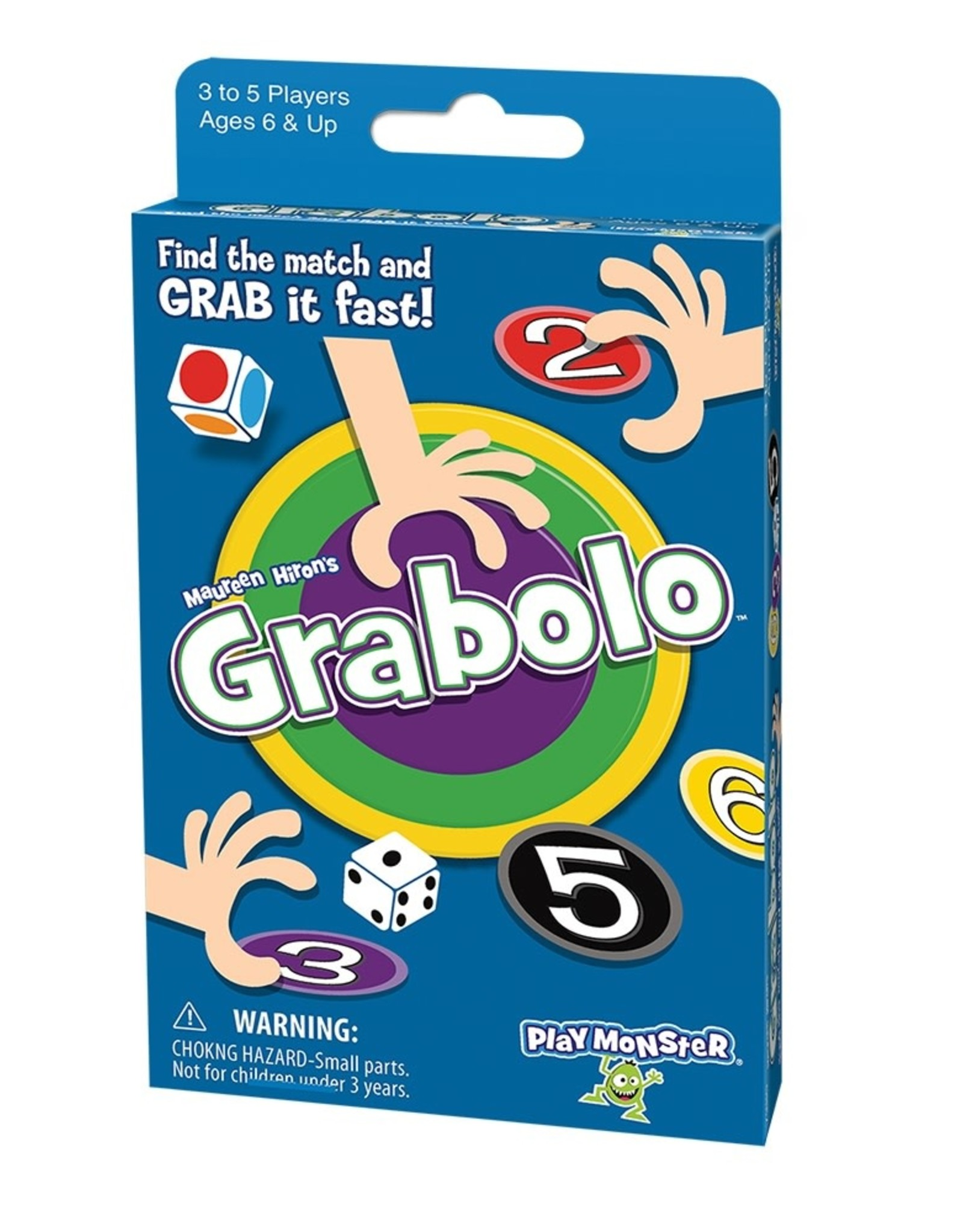 Play Monster (Patch) Grabolo Box Card Game