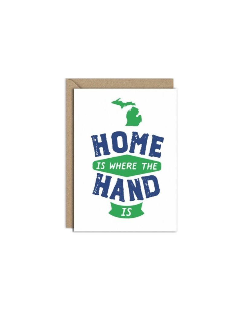 Card Home is Hand
