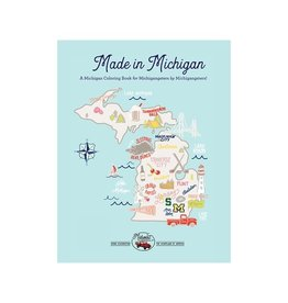 Midwest Supply Coloring Book Made in Michigan