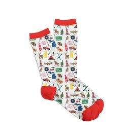 Midwest Supply Socks Michigan Icon