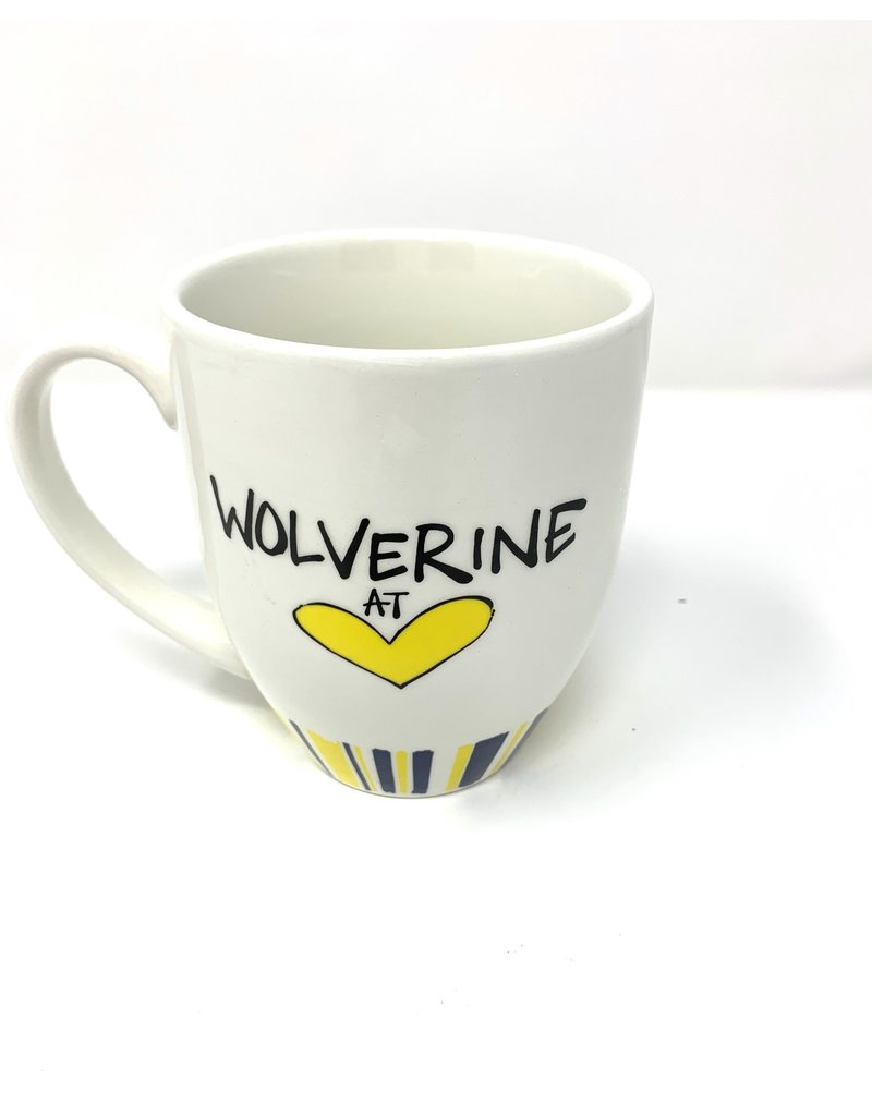 Heart Striped Mug UM