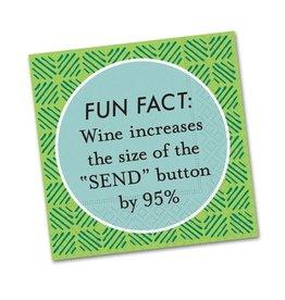 Cocktail Napkin Fun Fact