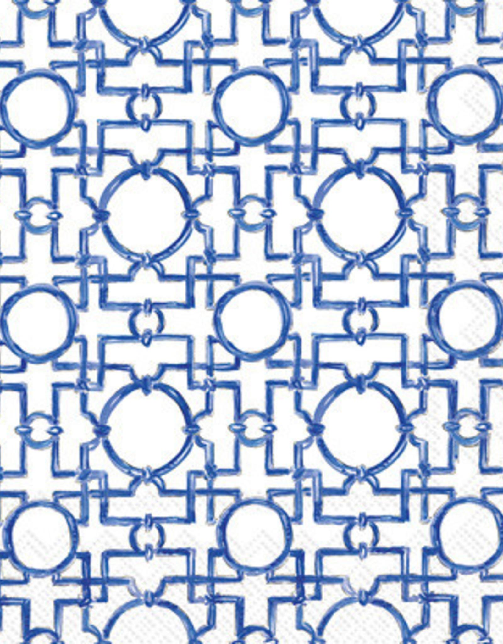 IHR Boston International Cocktail Napkin- Aiko Blue