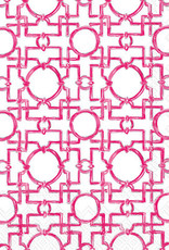 IHR Boston International Cocktail Napkin- Aiko Pink