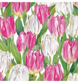 Cocktail Napkin- Modern Tulips