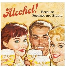 Cocktail Napkin Feelings are Stupid