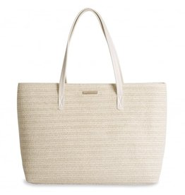 Katie Loxton Callie Large Tote Beach Bag Natural