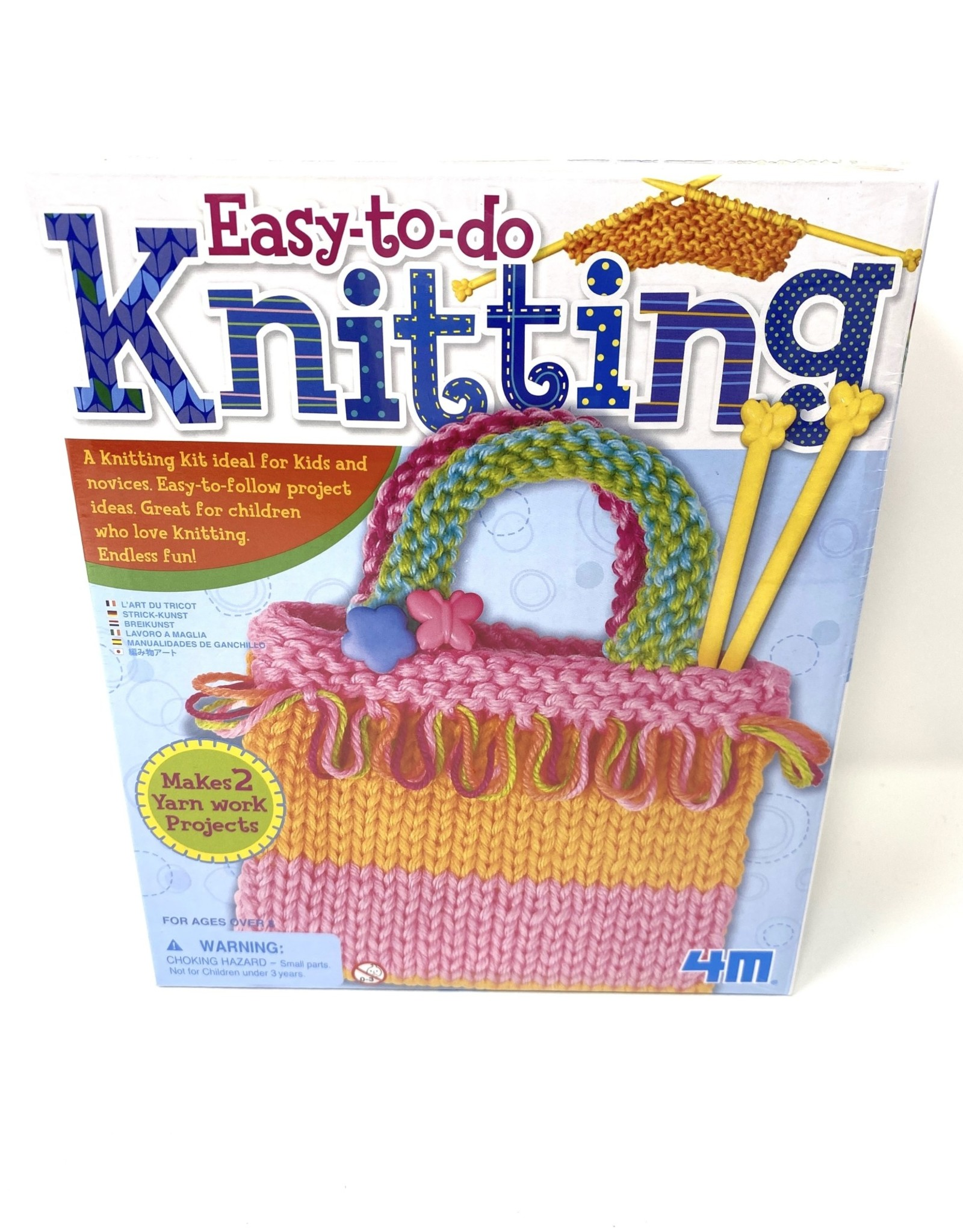 Toysmith Easy to Do Stitchery Kits Asst Knitting