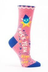 Blue Q Blue Q Adult Only Women's Crew Socks