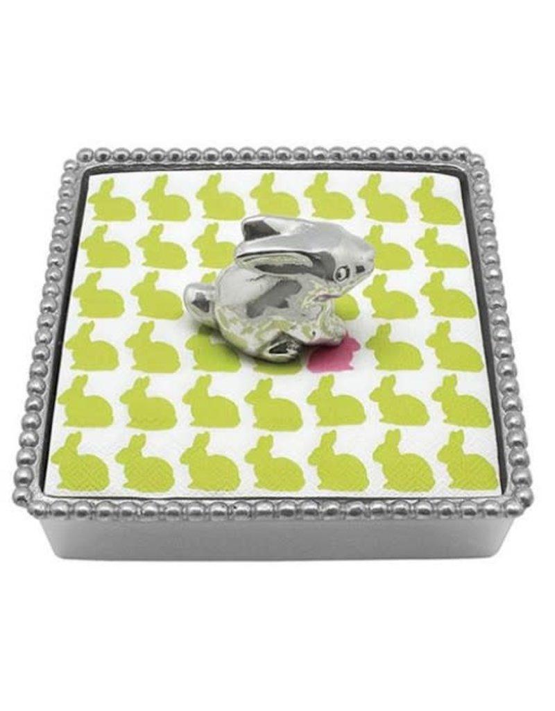 Mariposa Napkin Box - Bunny