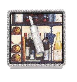Mariposa Napkin Box - Wine Bottle