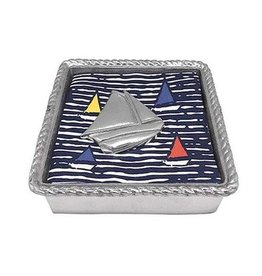 Napkin Box - Sailboat Rope