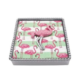 Napkin Box - Pink Flamingo