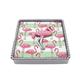 Napkin Box - Pink Flamingo